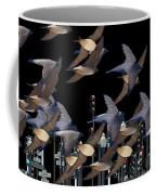 Swallows In The City Coffee Mug