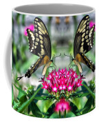 Swallowtail Butterfly Digital Art Coffee Mug