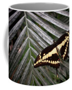 Swallowtail Butterfly Coffee Mug by Olivier Le Queinec