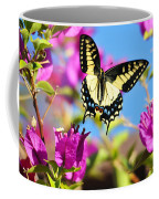 Swallowtail In Flight Coffee Mug