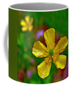 Swamp Buttercup Near Loon Lake In Sleeping Bear Dunes National Lakeshore-michigan  Coffee Mug