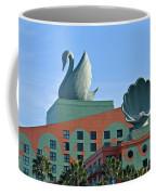 Swan And Shell Coffee Mug