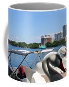 Swan Boats And Buildings Coffee Mug
