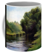 Swan Creek Coffee Mug by Janet King