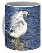 Swan Feather Coffee Mug