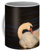 Swan Grooming Coffee Mug