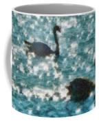 Swan Lake Coffee Mug by Ayse Deniz