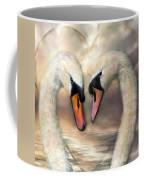 Swan Love Coffee Mug