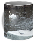 Swan On The Water Coffee Mug
