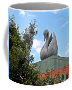 Swan Resort Statue Walt Disney World Coffee Mug
