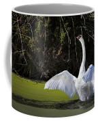 Swan Wings Spread Coffee Mug