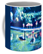 Swans And Flamingos Coffee Mug