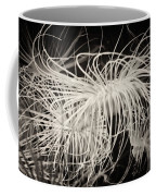 Swaying Anemone Bw Coffee Mug
