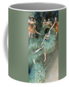 Swaying Dancer .dancer In Green Coffee Mug
