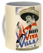 Swedish Poster #1   Viva Villa 1934-2008 Coffee Mug