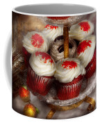 Sweet - Cupcake - Red Velvet Cupcakes  Coffee Mug by Mike Savad