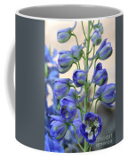 Sweet Delphinium Coffee Mug