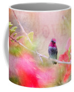Sweet Hummingbird Love Coffee Mug