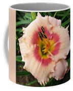 Sweet Sugar Candy Daylily Coffee Mug