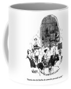 Sweetie, Show The Hazlitts The Watercolors Coffee Mug