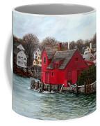 Swells In The Harbor Coffee Mug