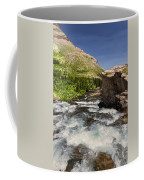 Swiftcurrent River At Many Glacier Coffee Mug