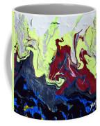 Swim Of The Red Dragon Coffee Mug