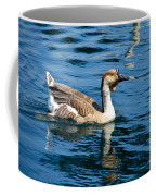 Swimming African Brown Goose Coffee Mug