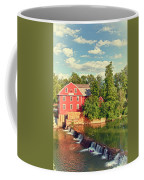 Swimming At War Eagle Coffee Mug