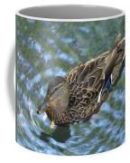 Swimming Duck  Coffee Mug