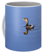 Swimming Grebe Coffee Mug