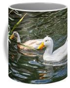 Swimming In The Pond Coffee Mug