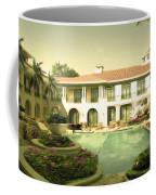 Swimming Pool In Luxury Hotel Coffee Mug