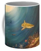 Swimming With Sharks Coffee Mug