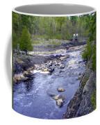 Swing Bridge Over The River Coffee Mug