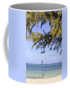 Swing Front Of The Ocean Coffee Mug