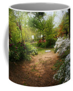 Swing In The Garden Coffee Mug by Sandy Keeton