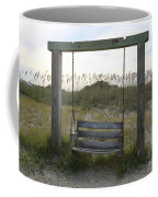 Swing On The Beach Coffee Mug