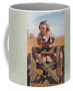 Swinging On A Gate Detail Coffee Mug