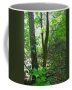 Swirled Forest 1 - Digital Painting Effect Coffee Mug
