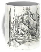 Swirling Cast Shadows At Elephant Rocks  No Ctc101 Coffee Mug