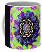 Swirling Crown Coffee Mug