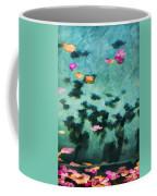 Swirling Leaves And Petals 4 Coffee Mug