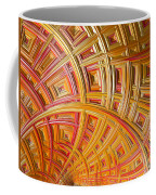 Swirling Rectangles Coffee Mug