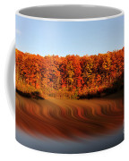 Swirling Reflections With Fall Colors Coffee Mug by Dan Friend