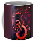 Swirls Abstract Coffee Mug