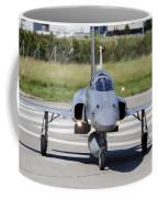Swiss Air Force F-5e Tiger Recovering Coffee Mug