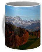 Swiss Alpine Scene Coffee Mug