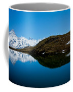 Swiss Alps - Schreckhorn Reflection Coffee Mug