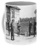 Swiss And German Border Guards Coffee Mug